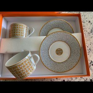 Hermès Mosaic Tea cup set
